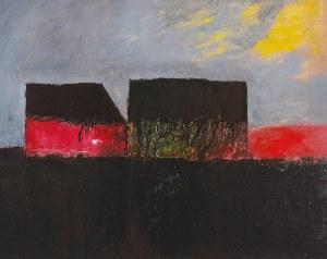 Stanisław RODZIŃSKI (ur. 1940), Dwa domy, 2002