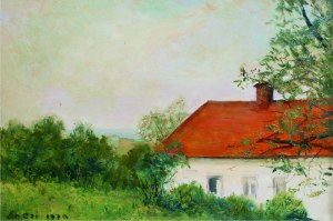 Aneri Irena Weissowa (1888-1981), Dom w Kalwarii, 1970
