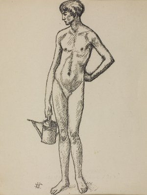 "Wlastimil Hofman (1881-1970), Fragment tryptyku ""VITA SOMNIUM BREVIS"", 1928"