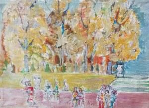 Henryk Krych (1905-1980), Jesień w parku