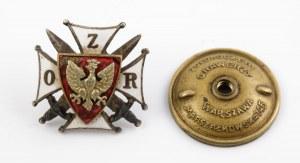 ODZNAKA ORGANIZACYJNA ZWIĄZKU OFICERÓW REZERWY wz. 1938