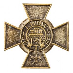 KRZYŻ OBROŃCY LWOWA, wersja z krzyżem Virtuti Militari