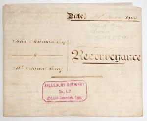 SKRYPT DŁUŻNY, Anglia, 1853