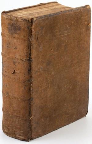 THE BOOK OF COMMON PRAYER (Modlitewnik powszechny), Londyn, John Baskett, 1717