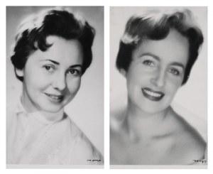 Jerzy Benedykt DORYS (1901-1990), Zofia Janukowicz i Lidia Kozubek - para fotografii