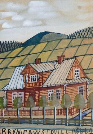 Nikifor KRYNICKI (1895-1968), Dom w Krynicy