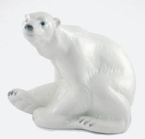 Niels NIELSEN (1872-1921) - model, Figura niedźwiedzia polarnego