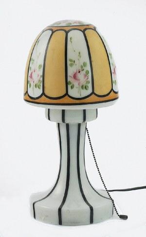 Lampka - grzybek, elektryczna