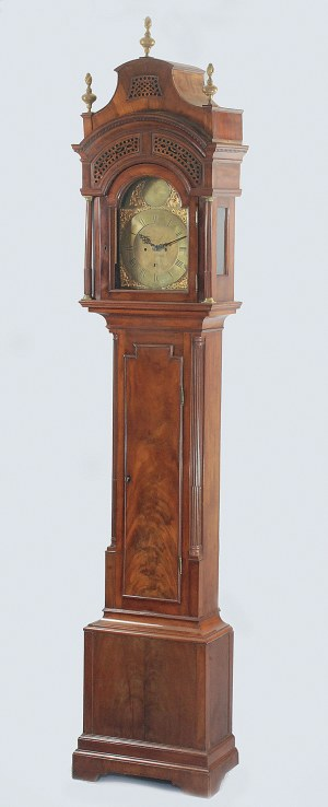 Zegar podłogowy, DAVID RIVERS & SON (OK. 1735-1820)
