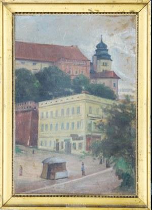 Maria Podlewska (1887–1958), Widok Wawelu