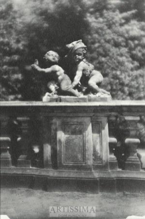 Czesław Olszewski (1894–1969), Rzeźba z balustrady Pałacu w Wilanowie, przed 1939