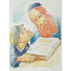 Chaim Goldberg (1917 Kazimierz Dolny – 2004 Boca Raton) Rabin i uczeń