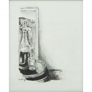 Mojżesz Kisling (1891 – 1953) Martwa natura z butelką
