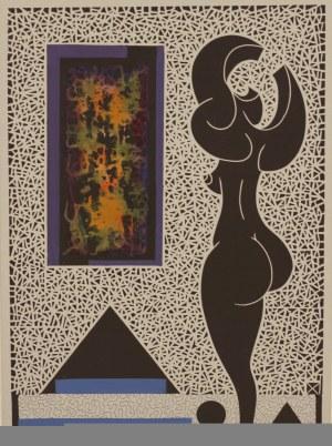Henryk Płóciennik (ur. 1933), W Galerii, 2009