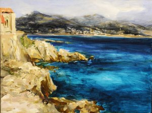 Aneta Jaźwińska, Lazurowe wybrzeże – Antibes, 2009