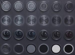 Dorota Kuźnik, White and black circles, 2013