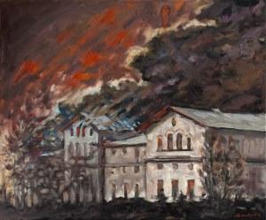 Piotr Pachecki, Pożar w Gorzelni, 2019