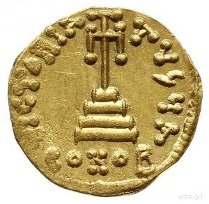 solidus, 654-659, Konstantynopol; Aw: Popiersia Konstan...