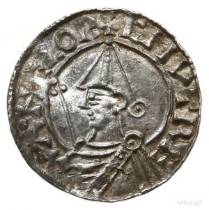 denar typu pointed helmet, 1024-1030, mennica Wincheste...