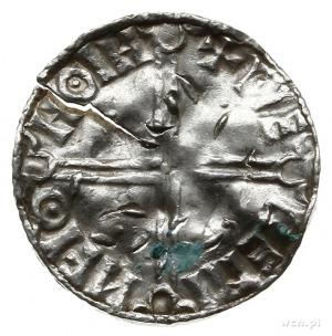 denar typu long cross, ok. 1000-1010, mennica; HNTRC RE...