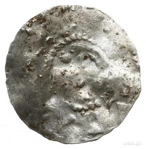 naśladownictwo denara typu S COLONIA, ok. 1000; Napis S...