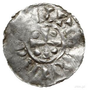 anonimowe naśladownictwo z końca X w. denara typu xrist...
