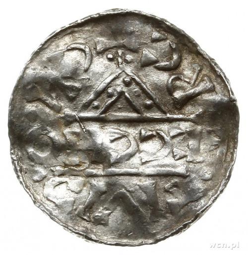 denar, 1018-1026, Ratyzbona, mincerz Ag; Hahn 31d7.2; s...