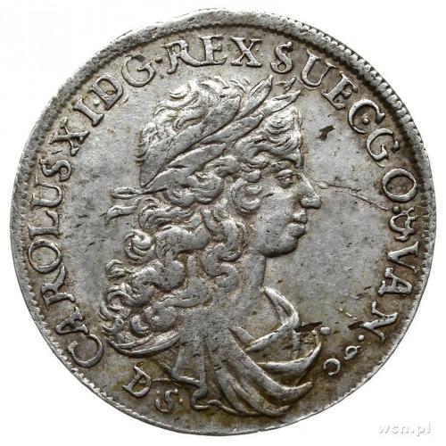 1/3 talara (1/2 guldena) 1674, Szczecin; AAJ 128; drobn...