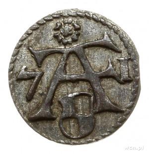 denar 1571, Królewiec; Slg. Marienburg 1271, Neumann 51...