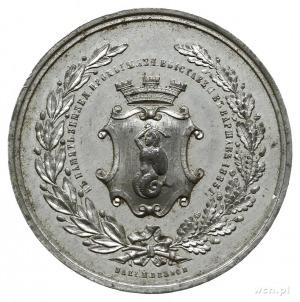 medal z 1885 roku autorstwa Franciszka Witkowskiego, wy...