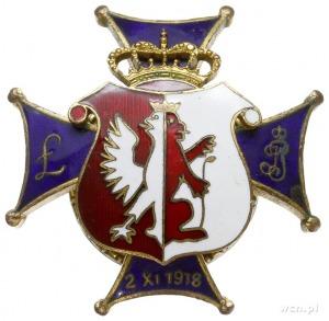 oficerska odznaka pamiątkowa 37 Łęczyckiego Pułku Piech...