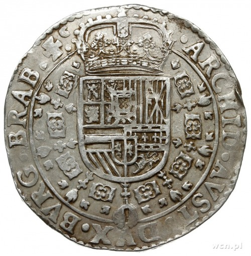 Brabancja, patagon 1646, Antwerpia; Delm. 293, Dav. 446...