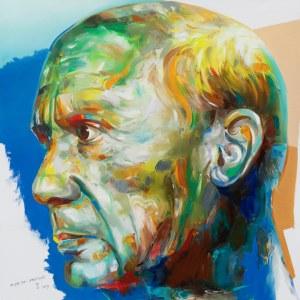 Monika Łakomska, Picasso abstract, 2019