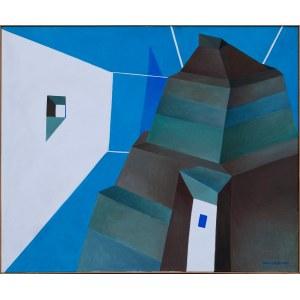 Ewa Miazek, The structure in blue inside, 2004