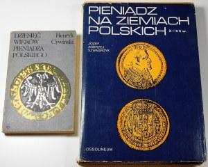 Zestaw literatury numizmatycznej