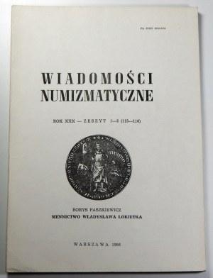 Borys Paszkiewicz, Mennictwo Władysława Łokietka