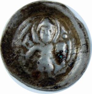 Mazowsze lub Kujawy?, Odon 1179-1194?, Brakteat - Św. Maurycy