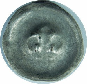 Pomorze Gdańskie?, Dymin około 1250-1325?, Brakteat - Lilia
