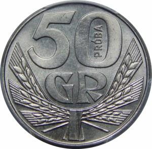 Próba Nikiel 50 groszy 1958