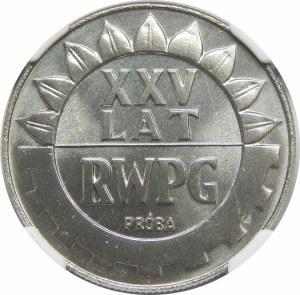 Próba Nikiel 20 złotych 1974 RWPG