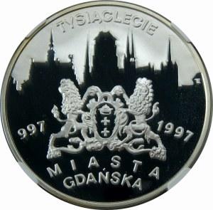 20 złotych 1996 Tysiąclecie Miasta Gdańska