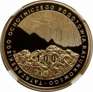 100 złotych 2009 Tatrzańskie Ochotnicze Pogotowie Ratunkowe
