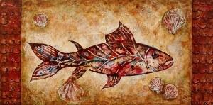 """Katarzyna Blekiewicz, """"Salmon"""""""