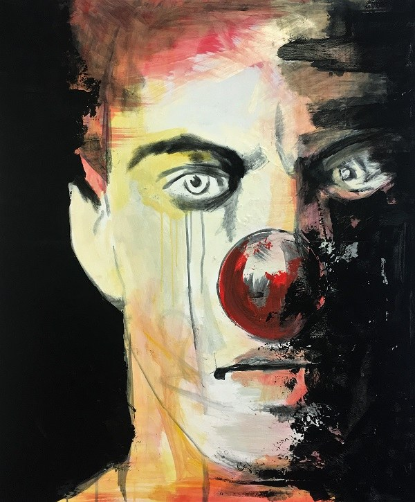 "Maciej Hoppe, ""Clown"""