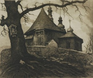 Józef PIENIĄŻEK (1888-1953), Kościół w Łukowicy, 1934