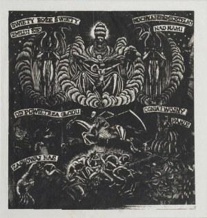 Władysław SKOCZYLAS (1883 -1934), Święty boże, Święty mocny, 1916