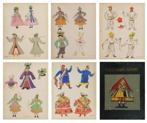 Zofia STRYJEŃSKA (1894-1976), Teka: Polish Peasants Costumes, 1939