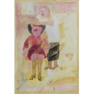 Doren HEATON-POTWOROWSKA (1930-2014), U fryzjera, 1974