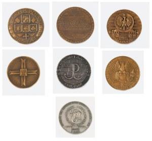Medale emigracyjne okolicznościowe 7 szt.