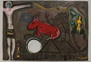 """Marc Chagall (1887-1985), Mistyczne Ukrzyżowanie(""""Derriere le Miroir"""" no 27-28, 1950)"""